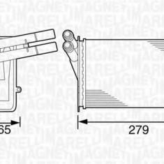 Schimbator caldura, incalzire habitaclu AUDI 4000 1.6 - MAGNETI MARELLI 350218220000 - Sistem Incalzire Auto