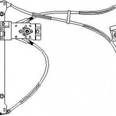 Mecanism actionare geam VW POLO 55 1.3 - TOPRAN 104 044 - Macara geam