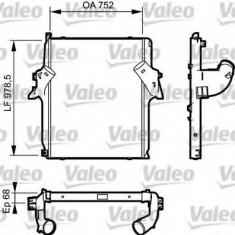 Intercooler, compresor MERCEDES-BENZ ACTROS MP2 / MP3 1850, 1851, L, LL - VALEO 818782 - Intercooler turbo