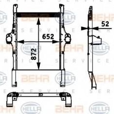 Intercooler, compresor IVECO Stralis AS 440S48 - HELLA 8ML 376 724-251 - Intercooler turbo