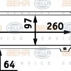 Intercooler, compresor OPEL ASTRA F hatchback 1.7 TDS - HELLA 8ML 376 723-061 - Intercooler turbo
