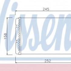Schimbator caldura, incalzire habitaclu LANCIA YPSILON 1.2 - NISSENS 71451 - Sistem Incalzire Auto