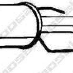 Toba esapamet intermediara OPEL ZAFIRA A 1.8 16V - BOSAL 284-339 - Toba finala auto