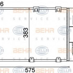 Condensator, climatizare OPEL ASTRA G hatchback 1.2 16V - HELLA 8FC 351 301-244 - Radiator aer conditionat