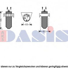 Uscator, aer conditionat OPEL MOVANO caroserie 2.5 D - AKS DASIS 800292N KLOKKERHOLM
