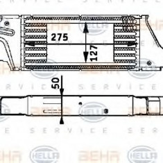 Intercooler, compresor VAUXHALL CORSA Mk II 1.3 CDTI 16V - HELLA 8ML 376 723-281 - Intercooler turbo