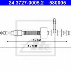 Cablu, frana de parcare ALFA ROMEO 156 1.6 16V T.SPARK - ATE 24.3727-0005.2