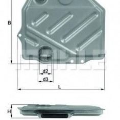 Filtru hidraulic, cutie de viteze automata MERCEDES-BENZ E-CLASS limuzina E 220 - KNECHT HX 48