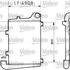 Intercooler, compresor RENAULT TRUCKS Midliner M 230.12/C - VALEO 816729 - Intercooler turbo