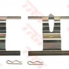 Set accesorii, placute frana AUDI Q7 3.0 TDI - TRW PFK505