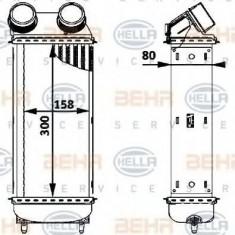 Intercooler, compresor PEUGEOT 206 hatchback 2.0 HDI 90 - HELLA 8ML 376 723-561 - Intercooler turbo