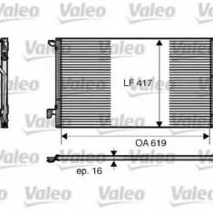 Condensator, climatizare ALFA ROMEO 147 1.9 JTD - VALEO 817809 - Radiator aer conditionat