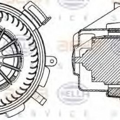 Ventilator, habitaclu MERCEDES-BENZ SPRINTER 3-t bus 224 - HELLA 8EW 351 034-061 - Motor Ventilator Incalzire