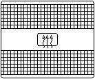 Comutator, incalzire luneta VW GOLF Mk III Estate 1.9 D - TOPRAN 103 141