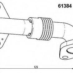 Conducta tubulara, Supapa-AGR SKODA SUPERB combi 1.9 TDI - WAHLER 61384D - EGR