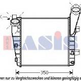 Intercooler, compresor PORSCHE CAYENNE 3.6 - AKS DASIS 177003N