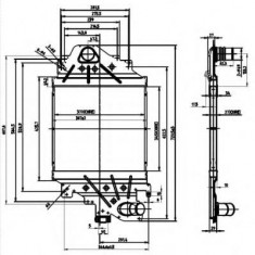Intercooler, compresor RENAULT CLIO Mk II 1.9 dTi - NRF 30865 - Intercooler turbo