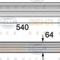Intercooler, compresor MINI MINI Cooper S - HELLA 8ML 376 746-451 - Intercooler turbo
