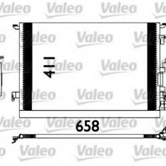 Condensator, climatizare VAUXHALL ZAFIRA Mk I 1.8 Dualfuel - VALEO 817647 - Radiator aer conditionat