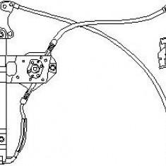 Mecanism actionare geam VW GOLF Mk III 1.9 D - TOPRAN 103 100 - Macara geam