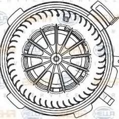 Ventilator, habitaclu MERCEDES-BENZ SPRINTER 3-t bus 224 - HELLA 8EW 351 034-071 - Motor Ventilator Incalzire