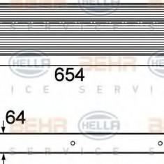 Intercooler, compresor NISSAN X-TRAIL 2.0 dCi FWD - HELLA 8ML 376 746-611 - Intercooler turbo