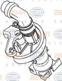 Supapa control, agent frigorific MERCEDES-BENZ ACTROS MP2 / MP3 1832, L, LL - HELLA 9XL 351 029-021
