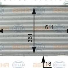 Condensator, climatizare HYUNDAI LAVITA 1.6 - HELLA 8FC 351 302-261 - Radiator aer conditionat