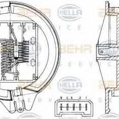 Rezistor, ventilator habitaclu CITROËN XANTIA 1.6 i - HELLA 9ML 351 303-291 - Motor Ventilator Incalzire