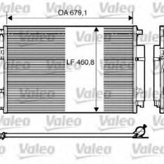 Condensator, climatizare VW CRAFTER 30-35 bus 2.0 TDI - VALEO 818173 - Radiator aer conditionat
