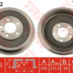Tambur frana SKODA PRAKTIK 1.2 TDI - TRW DB4262 - Saboti frana auto