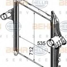 Intercooler, compresor MAN TGL 8.240 FC, FRC, FLC, FLRC - HELLA 8ML 376 746-301 - Intercooler turbo