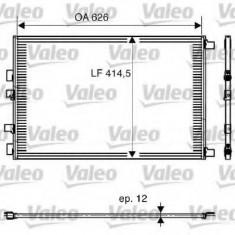 Condensator, climatizare RENAULT MEGANE II 2.0 dCi - VALEO 818002 - Radiator aer conditionat