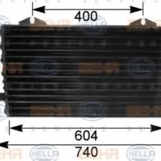 Condensator, climatizare AUDI 90 1.9 TD - HELLA 8FC 351 035-541 - Radiator aer conditionat