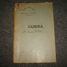 Acte vechi/Cazier ROMANIA Regalista Act Oficial sub trei Dictaturi (Guverne) - Diploma/Certificat