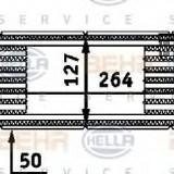 Intercooler, compresor OPEL VITA C 1.7 DTI - HELLA 8ML 376 723-201