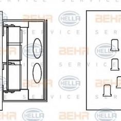 Rezistor, ventilator habitaclu MERCEDES-BENZ NG 2635 - HELLA 9ML 351 332-161 - Motor Ventilator Incalzire