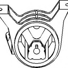 Suport motor OPEL ASTRA G hatchback 2.0 DI - TOPRAN 206 163 - Suporti moto auto