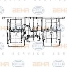 Ventilator, habitaclu MERCEDES-BENZ ACTROS 1831, 1831 L - HELLA 8EW 009 158-071 - Motor Ventilator Incalzire