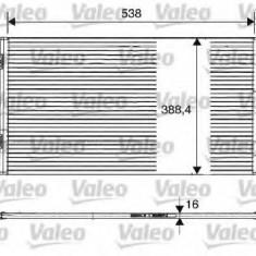 Condensator, climatizare RENAULT MEGANE Scenic 1.6 16V - VALEO 817701 - Radiator aer conditionat