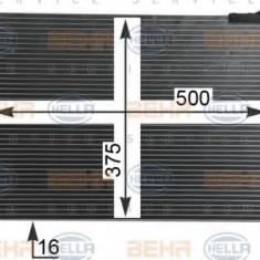 Condensator, climatizare RENAULT MODUS / GRAND MODUS 1.4 - HELLA 8FC 351 319-244 - Radiator aer conditionat