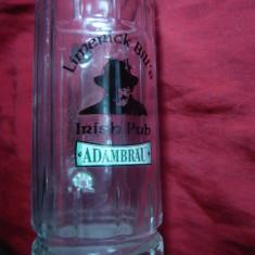 Halba Bere speciala pt. bere bruna irlandeza - Irish Pub Limerick Bill's ,sticla