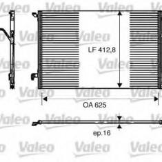 Condensator, climatizare SAAB 9-3 limuzina 1.9 TiD - VALEO 818175 - Radiator aer conditionat