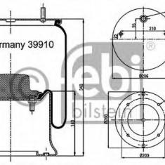 Burduf, suspensie pneumatica - FEBI BILSTEIN 39910