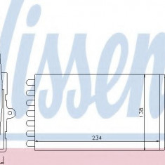 Schimbator caldura, incalzire habitaclu CITROËN AX 10 - NISSENS 71143 - Sistem Incalzire Auto
