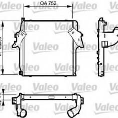 Intercooler, compresor MERCEDES-BENZ ACTROS 1853, 1853 L - VALEO 818781 - Intercooler turbo