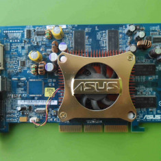 Placa Video Asus GeForce FX5700 128MB 128biti AGP - ARTEFACTE - Placa video PC Asus, nVidia