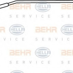 Conducta inalta presiune, aer conditionat FORD FUSION 1.4 - HELLA 9GS 351 337-311 - Furtunuri aer conditionat auto