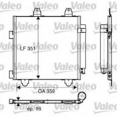 Condensator, climatizare CITROËN C1 1.4 HDi - VALEO 818014 - Radiator aer conditionat