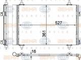 Condensator, climatizare PEUGEOT 3008 1.6 VTi - HELLA 8FC 351 307-691